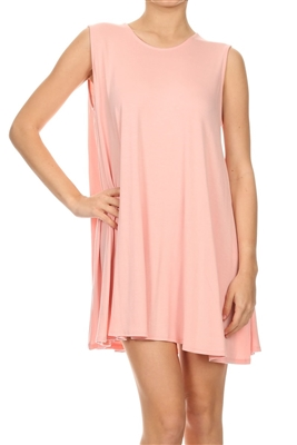 Loose fit dresses SLD-2002 Pink