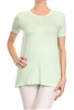 Basic Solid Loose fit top SLT-1006-Mint