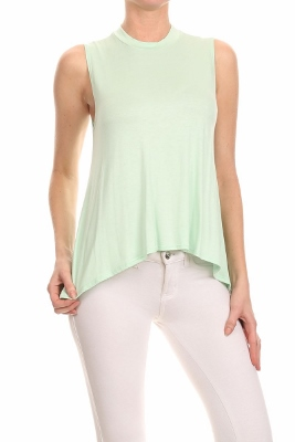 Basic Solid Loose fit top SLT-1008-Mint