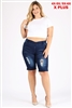 Wholesale plus size denim shorts