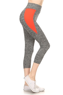 Wholesale Yoga Leggings VA-3003-ORANGE