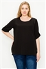 Plus size koshibo tops