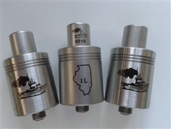 Genuine Tugboat V1 RDA Brushed - Illinois