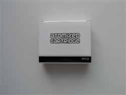 Boge 510 Cartomizer 5 Pack - Stainless