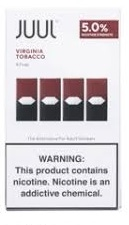Juul Pod - Virginia Tobacco  4 Pack