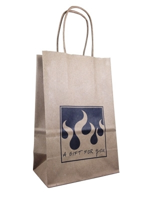 Flaming Hot Sauce Gift Bag