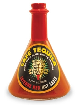 Cafe Tequila Cayenne Red Hot Sauce