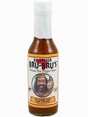 Brother Bru-Bru's African Hot Sauce