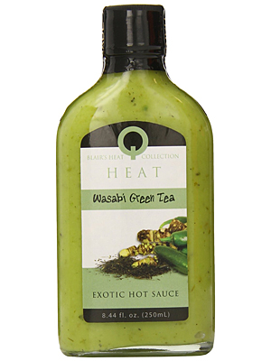 Blair's Heat Wasabi Green Tea Exotic Hot Sauce