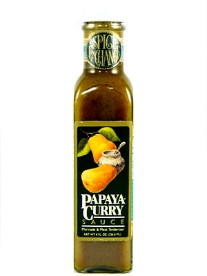 Papaya Curry Marinade & Meat Tenderizer