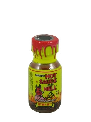 Mini Hot Sauce From Hell