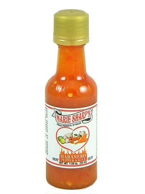 Marie Sharp's Hot Habanero Pepper Sauce Mini