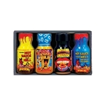 Xtreme Heat Mini Bottle Hot Sauce Four Pack