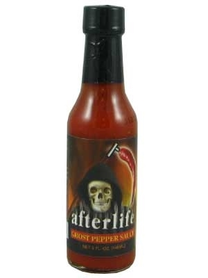 Afterlife Ghost Pepper Hot Sauce