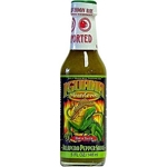 Iguana Mean Green Hot n' Tasty Jalapeno Pepper Sauce
