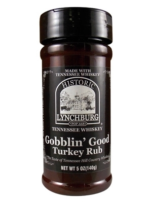 Historic Lynchburg Tennessee Whiskey Gobblin' Good Turkey Rub