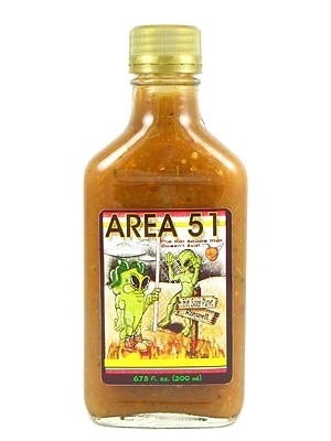 Area 51 The Hot Sauce That Doesn't Exist