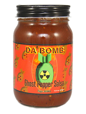 Da Bomb Ghost Pepper Salsa
