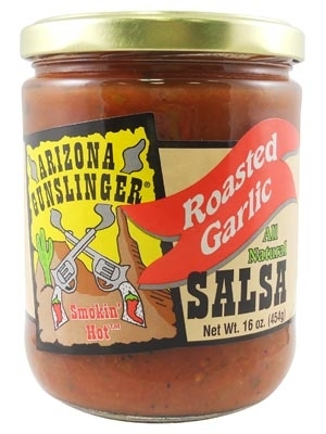 Arizona Gunslinger Roasted Garlic Salsa
