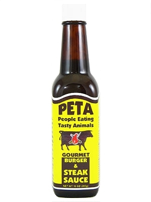 PETA (People for Eating Tasty Animals) Steak Sauce