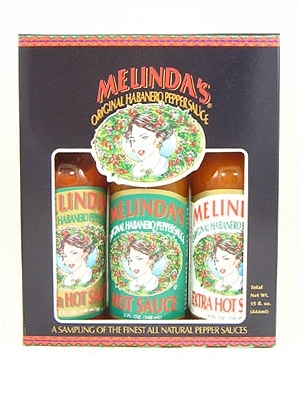 Melinda's 3 Pack Hot Sauce Gift Set