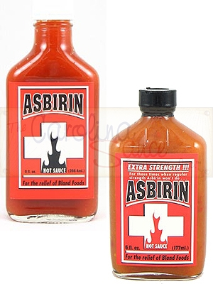 Asbirin Hot Sauces Combo Pack