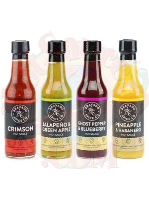 Bravado Spice Co. Hot Sauces Complete Set
