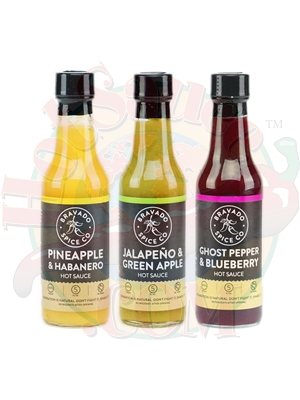 Bravado Spice Co. Fruity Hot Sauces 3 Pack