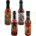 Hottest Trinidad Scorpion and Moruga Hot Sauces 4 Pack