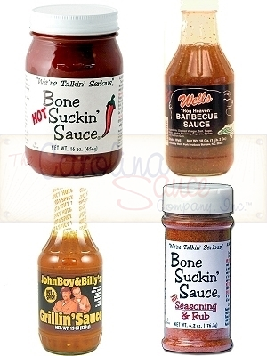 North Carolina BBQ Gift Set, Hot