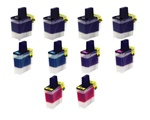 10 pack lc-41 Brother ink Cartridges.