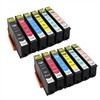 Epson 277XL Ink Cartridges,12 Set ,Remanufactured