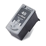 CANON PG-40 Black Remanufactured  Ink Cartridge