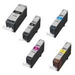 CANON Ink PGI-220 CLI-221 24 PK Combo, Remanufactured  Inkjet Cartridges.