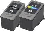 CANON PG-40 black and CL-41 ink Cartridge Combo