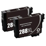 2 Epson T288- Epson T288XL120 (T288XL) Ink for Epson Expression XP-330,430,434 Cartridges,Remanufactured