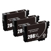 3 Epson T288- Epson T288XL120 (T288XL) Ink for Epson Expression XP-330,430,434 Cartridges,Remanufactured