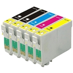 Epson T0691-5 Ink Cartridges,5 Set ,Remanufactured