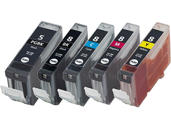 INK CARTRIDGE CANON COLOR BLACK  FOR IP PRINTER PGI 5 CLI 8