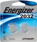 Energizer CR2032 BP Batteries 2 Pack New