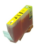 Canon BCI-3eY Inkjet Cartridge, Yellow, Remanufactured