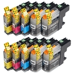 Brother LC203 XL BCYM Ink Cartridge Set for MFC