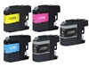 Brother LC103 XL BCYM Ink Cartridge Set for MFC