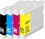 Brother LC51 BCYM Ink Cartridge Set for MFC