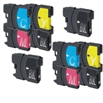 Brother LC61 BCYM Ink Cartridge Set for MFC