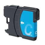 Brother LC61C Ink Cartridge,Cyan, Remanufactured