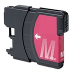 Brother LC61M Ink Cartridge,Magenta, Remanufactured