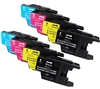 Brother LC-75 Inkjet Cartridges Set of 8 colors for DCP,MFC PRINTERS