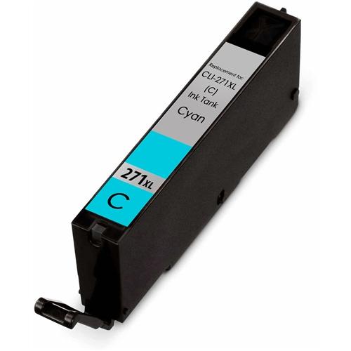 Cyan High Yield Ink Cartridge Compatible Canon CLI-271XL (0337C001)