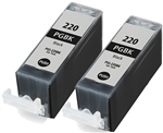 Canon PGI-220 Inkjet Cartridge, Black, Remanufactured